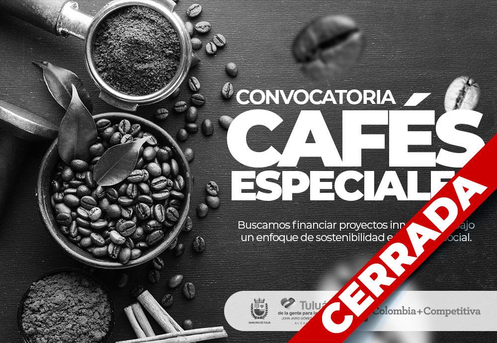 Convocatoria Cafés Especiales