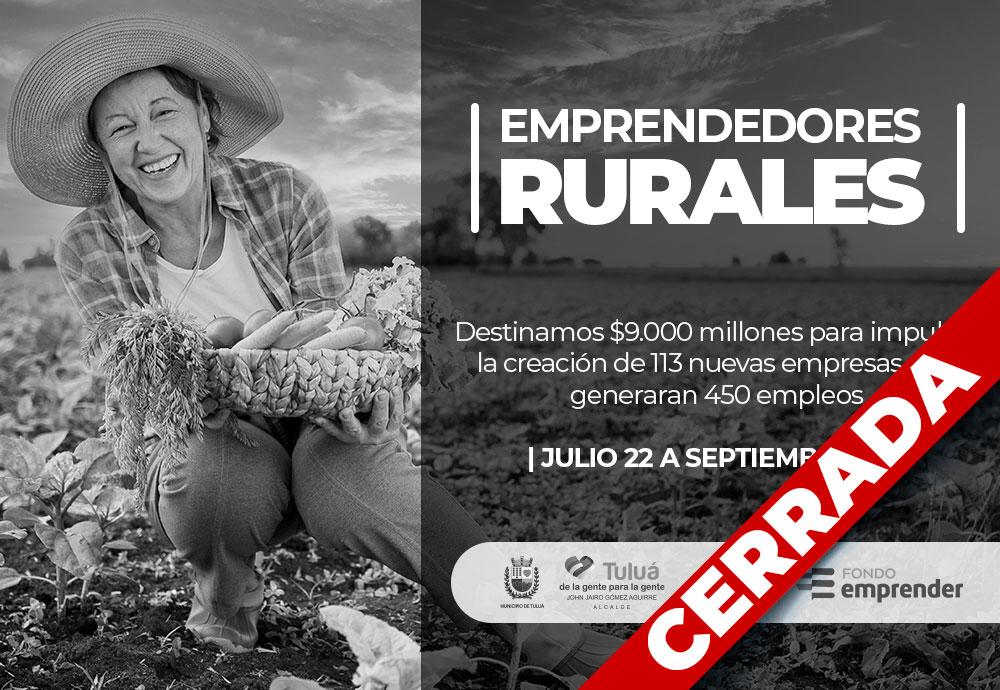 Emprendedores Rurales
