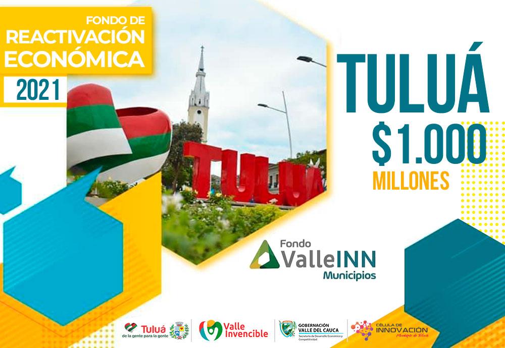 Convocatoria Fondo ValleINN Tuluá 2021