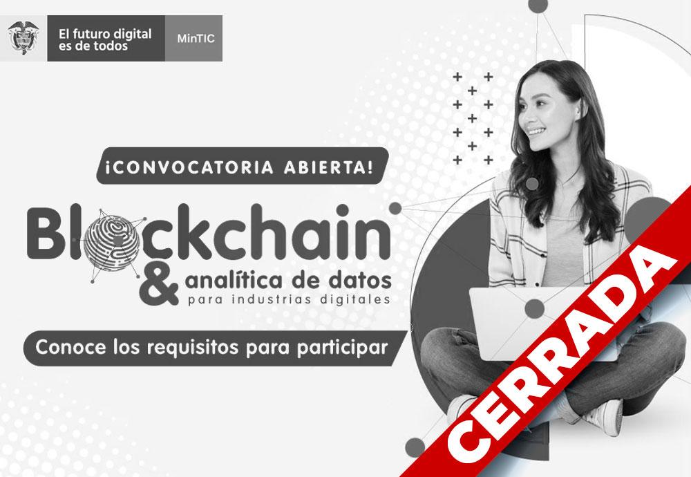 Blockchain y analítica de datos para industrias digitales